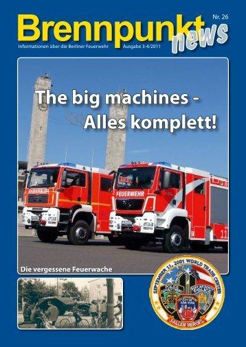 Brennpunkt news Nr. 26 - Feuerwehrmuseum Berlin