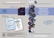 Für Verblüffende - Wilhelm Köpp Zellkautschuk GmbH & Co.