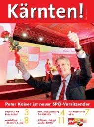 Peter Kaiser ist neuer SPÖ-Vorsitzender