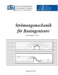 Teil I, Vorlesungsskript - Institut für Strömungsmechanik und ...