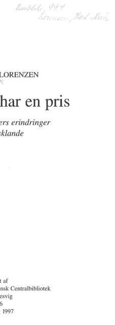 Min barndom - Studieafdelingen og Arkivet - Dansk Centralbibliotek ...