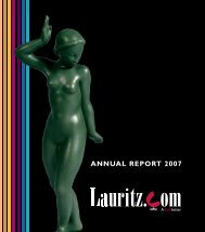 ANNUAL REPORT 2007 - Lauritz.com