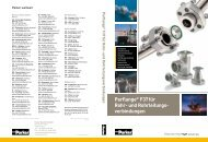 Parflange® F37für Rohr- und Rohrleitungs- verbindungen