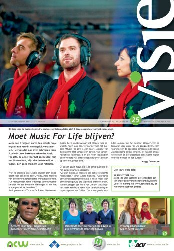 Moet Music For Life blijven? - ACV