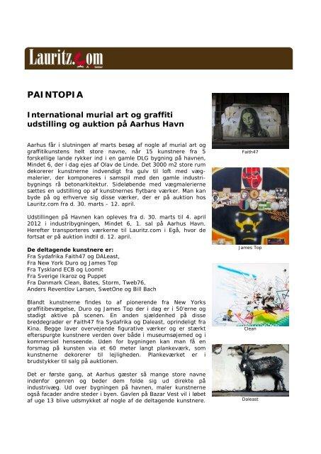 Lauritz.com Press Release