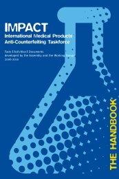 IMPACT - World Health Organization