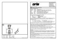 - 4 - - 1 - D Montage- und Betriebsanleitung 60 55