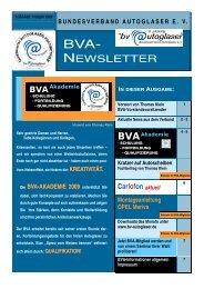 BVAAkademie - Bundesverband Autoglaser eV