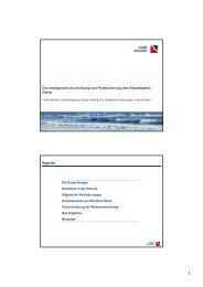 Dr. Frank Behrens: Strategische Ausrichtung und ... - Vitalwanderwelt