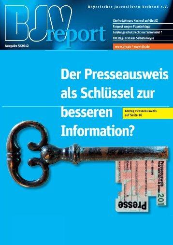 PDF-Version - Bayerischer Journalisten Verband