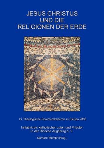 Jesus Christus und die Religionen der Erde - IK-Augsburg