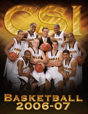 2006-2007 Men's Basketball Media Guide - College of Southern ...