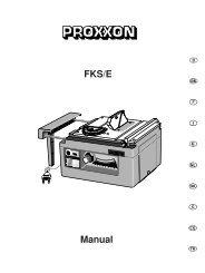 28070 20031121 Proxxon_FKS_E