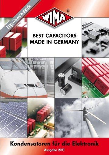 Kondensatoren für die Elektronik - Beckmann Elektronik GmbH