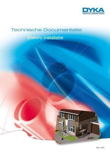 Technische Documentatie Elektro installatie - Dyka
