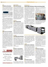 Digitaldruck News Ihr Partner für: - Publisher