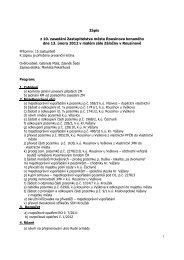 Zápis ze zasedání ZM dne 13.02.2012 - Rousínov