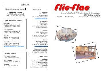 Flic-Flac octobre 2007 - Gym La Tour-de-Peilz