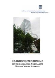 Hinweise zum Brandschutz - HAW Hamburg