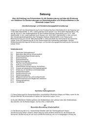 Sondernutzungs- und Sondernutzungsgebührensatzung Leippe ...