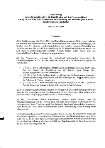 Kibiz - Personalvereinbarungen vom 26.05.2008 - Aktionsplattform ...