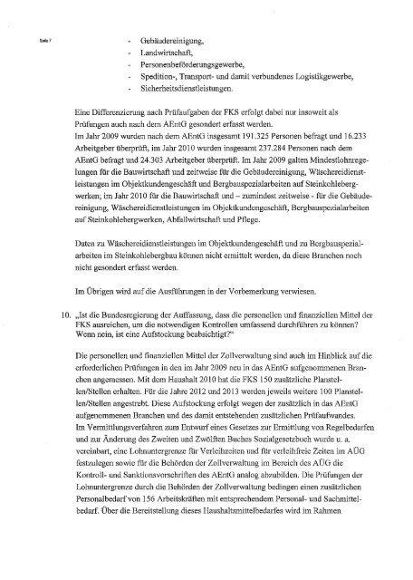 F'OSTANSCHRIFT BETREFF - Beate Müller-Gemmeke