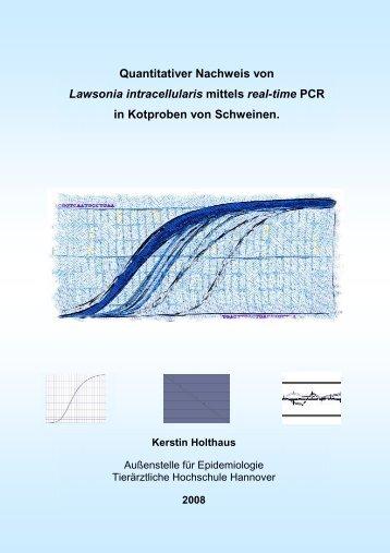 Quantitativer Nachweis von Lawsonia intracellularis mittels real-time ...