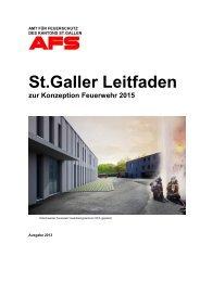 St Galler Leitfaden zur Konzeption Feuerwehr 2015 - AFS - Amt für ...