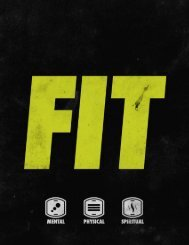 goal tracker - Sandals Fit