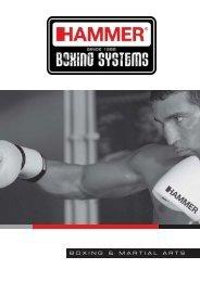 BOXING & MARTIAL ARTS - HAMMER fitness