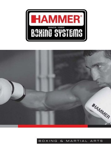 BOXING & MARTIAL ARTS - HAMMER fitness
