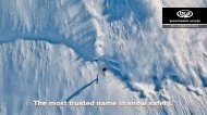 The most trusted name in snow safety.™ The most trusted name in ...