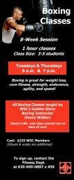 boxing class cards 1-12 - Wheaton Sport Center