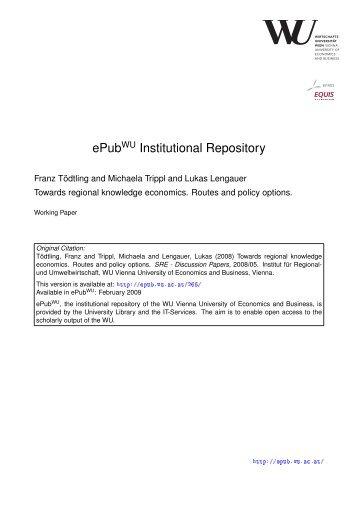 Download - ePub WU - Wirtschaftsuniversität Wien
