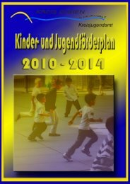 Kinder- und Jugendförderplan 2010 - 2014 - Kreis Düren