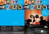 Fawkner Leisure Centre - group fitness timetable