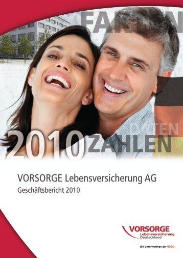 VORSORGE Lebensversicherung AG - Anbieter