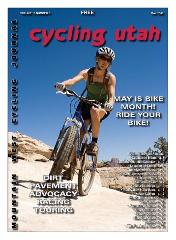 May 2008 Issue - Cycling Utah