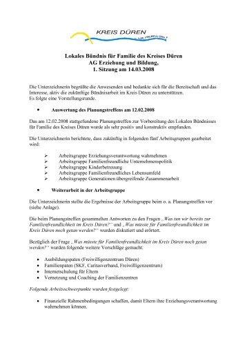 Protokoll 2008-03-14 - Kreis Düren