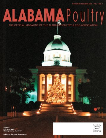 THE OFFICIAL MAGAZINE OF THE ALABAMA POULTRY & EGG ...