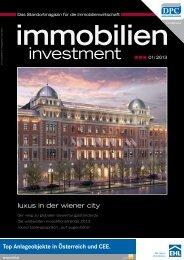 immobilien investment 1-2013.pdf - DMV - della lucia medien ...