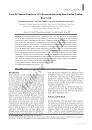 press-fit femoral fixation in acl reconstruction using bone-patellar ...