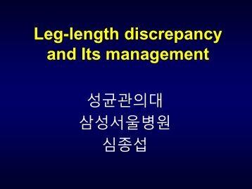 Leg-length discrepancy