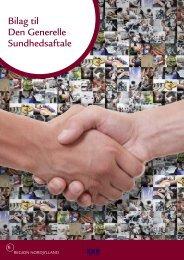 Bilag til Den Generelle Sundhedsaftale - Region Nordjylland