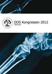 Abstract bog 2012 - Dansk Ortopædisk Selskab