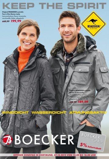 winddicht wasserdicht atmungsaktiv - Boecker Modehaus - Damen