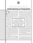Undermineringen af retssystemet psykiatrien forvansker lovgivningen - Page 4