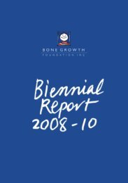 Annual Report - Bone Health Foundation