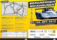 bergrennen mickhausen 01.-03. okt. 2010 - ASC Bobingen