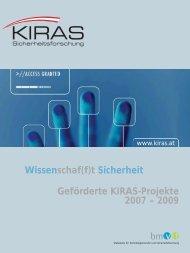 KIRAS Projekte2 NV.qxp - KIRAS Sicherheitsforschung